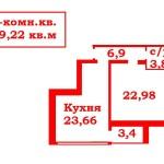 1комн.кв.59,22м