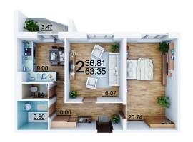 ЖК Северный продает квартиры в новом  доме по 8.900 грн/м!