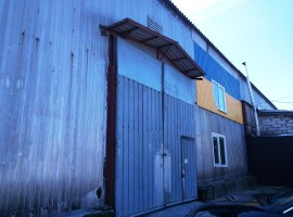 Аренда склада на Борисенка, 808 м + офисы с ремонтом.
