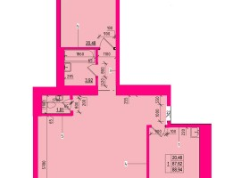 !3-хкомнатная квартира от застройщика в новом доме ул.Независимости.