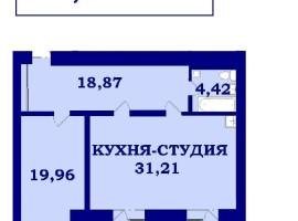 2-кімнатна квартира від ЗАБУДОВНИКА - ЖК «Стрілецька набережна»!