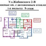 1подьезд 9 этаж нарисованная