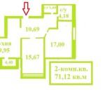 2-к.кв.71,12кв.м_этажи